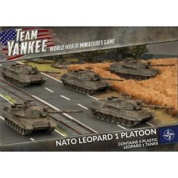 NATO Leopard 1 Tank Platoon
