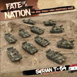 Syrian T-54 Tank Battalion