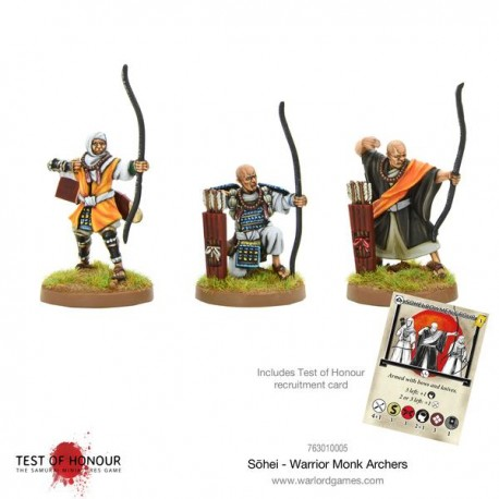Sōhei - Warrior Monk Archers