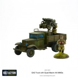 GAZ Truck with Quad Maxim AA MMGs