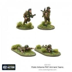 Polish Airborne PIAT anti-tank teams