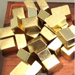 Gold Ingots (set of 10)