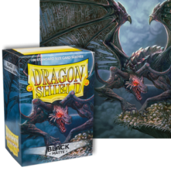 Dragon Shield : Black Matte 100 Standard Size