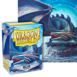 Dragon Shield : Blue Matte 100 Standard Size