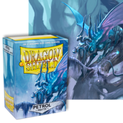 Dragon Shield : Petrol Matte 100 Standard Size