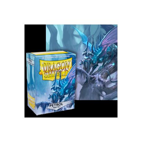 Dragon Shield : Petrol Matte 100 Standard Size