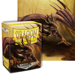 Dragon Shield : Umber Matte 100 Standard Size