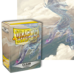 Dragon Shield :Clear Classic 100 Standard Size