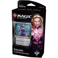 Magic the Gathering Core Set 2019 Planeswalker Deck: Liliana