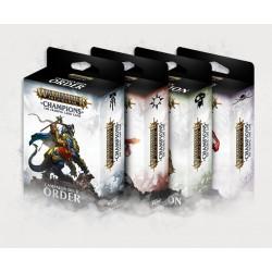 Warhammer Champions Campaign Decks Set