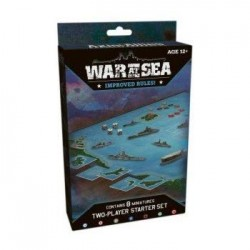 Axis and Allies Miniatures War at Sea Starter Game Set