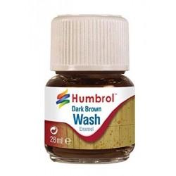 Enamel Wash dark brown