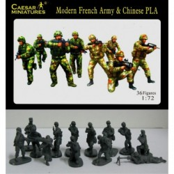 Modern French army and Chinese PLA