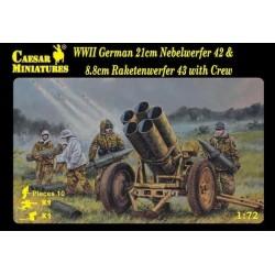 WWII German 21cm Neberwerfer
