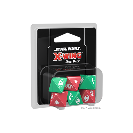 X-wing Second Edition Dice Pack