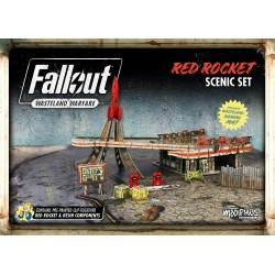 Fallout: Wasteland Warfare : Red Rocket Scenic Set