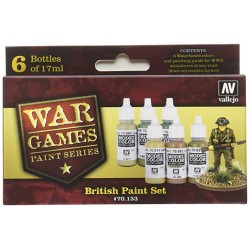 Vallejo British Paint set 17ml