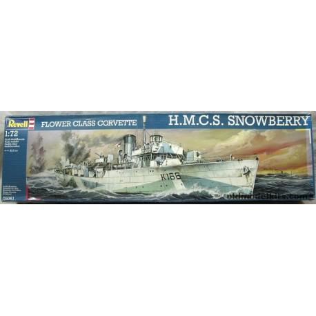 Flower Class Corvette H.M.C.S Snowberry 1/72