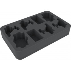 HSFY045BO Foam tray for Star Wars Armada 4 Flotillas Wave 3 Rebel Transport and Gozanti