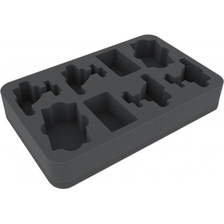 HSFY045BO Foam tray for Star Wars Armada 4 Flotillas Wave 3 Rebel Transport and Gozanti