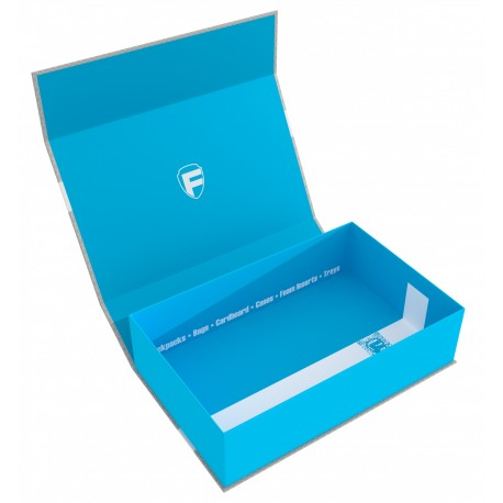 Feldherr Magnetic Box blue Half-Size 75 mm empty