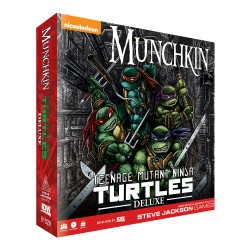 Munchkin Teenage Mutant Ninja Turtles Card Game