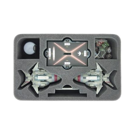 HSCN070BO foam tray for Star Wars Armada Assault Frigate Mark II