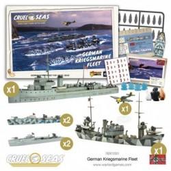 German Kriegsmarine Fleet