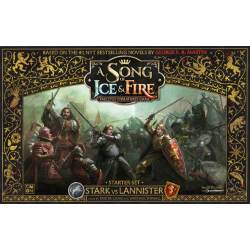 A Song of Ice and Fire: Tabletop Miniatures Game Stark vs Lannister 2-Player Starter Set