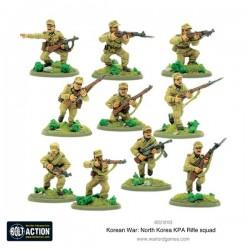 Korean War: North Korean KPA Rifle squad