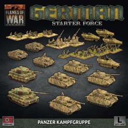 German Starter Force Panzer Kampfgruppe
