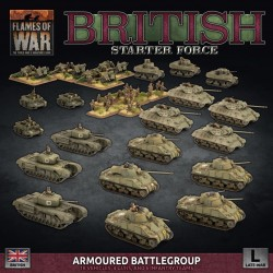 British Starter Set Armoured Battlegroup