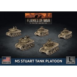 M5 Stuart Light Tank Platoon