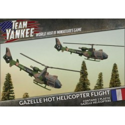 Gazelle Hot Helicopter Flight