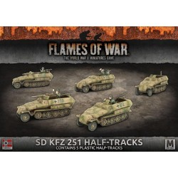 Sd Kfz 251 Half-Tracks