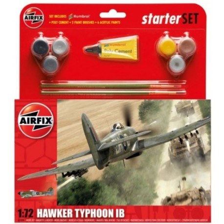 Hawker Typhoon IB Starter Set 1:72