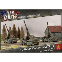 Dana SP 152MM Artillery Battery