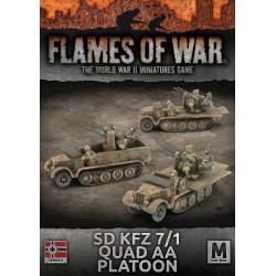 SD KFZ 7/1 Quad AA Platoon