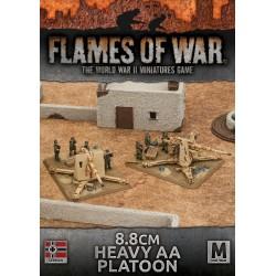 8.8cm Heavy AA Gun Platoon (Plastic)