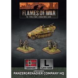 Armoured Panzergrenadier Company HQ (Plastic)