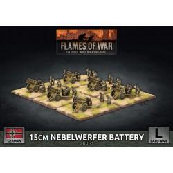 15 cm Nebelwerfer Battery (x6 Plastic)