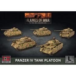 Panzer IV Tank Platoon (Plastic)
