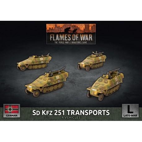 SD KFZ 251 Transports (Plastic)
