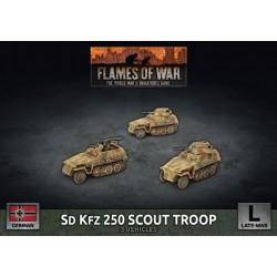 SD KFZ 250 Scout Troop (Plastic)