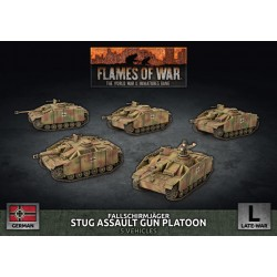 Fallschirmjager Stug Assault Gun Platoon
