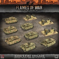 Bake's Fire Brigade Army Deal (Plastic)