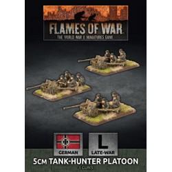 5cm Tank Hunter Platoon (Plastic)