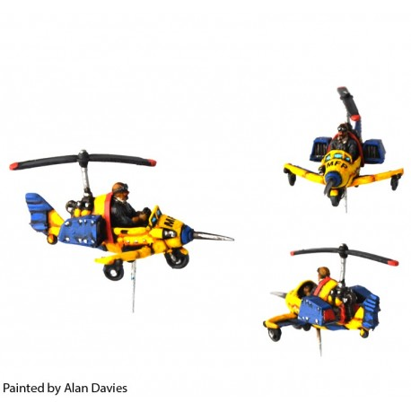 Law Flyer: Gyrocopter