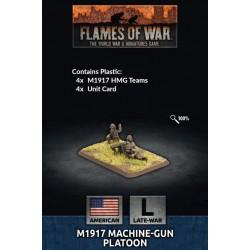 M1917 Machine Gun Platoon (Plastic)