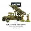 BM-13 Katyusha rocket launcher